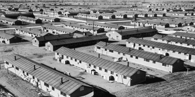 Camp Amache internment camp in Colorado during World War 2