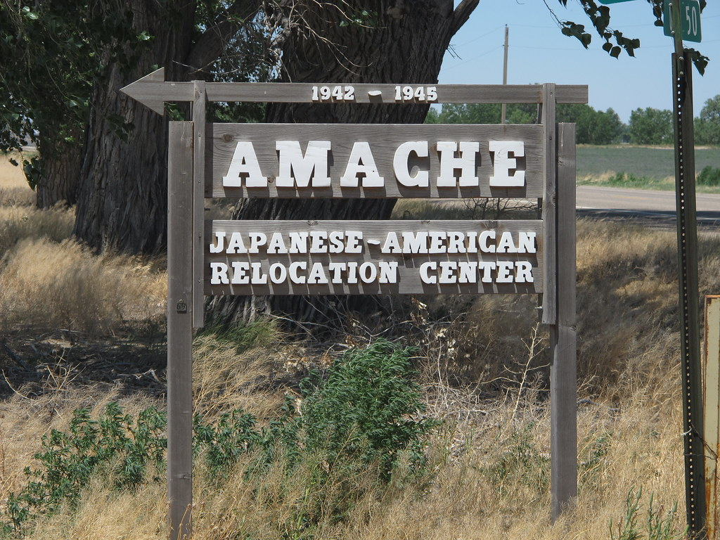 Amache Japanese American WRA War Relocation Authority