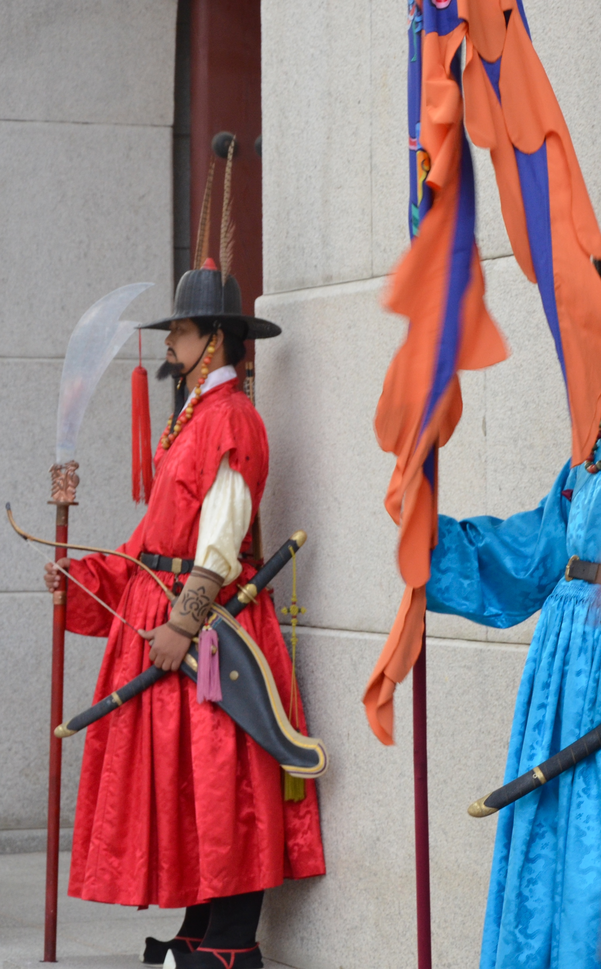 South Korean Temple Guards Seoul