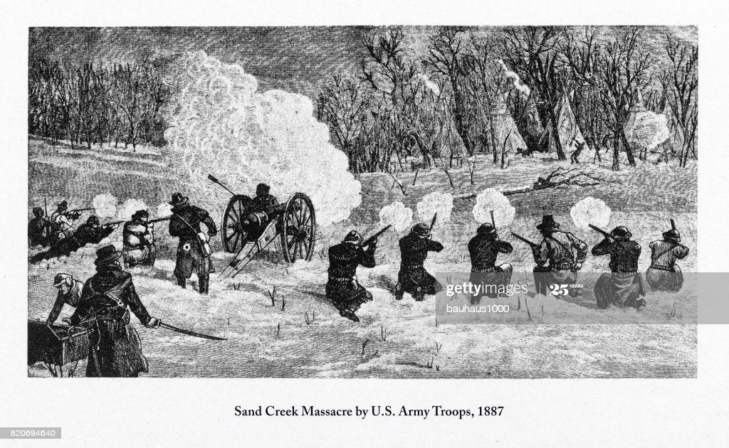 Sand Creek Massacre engraving