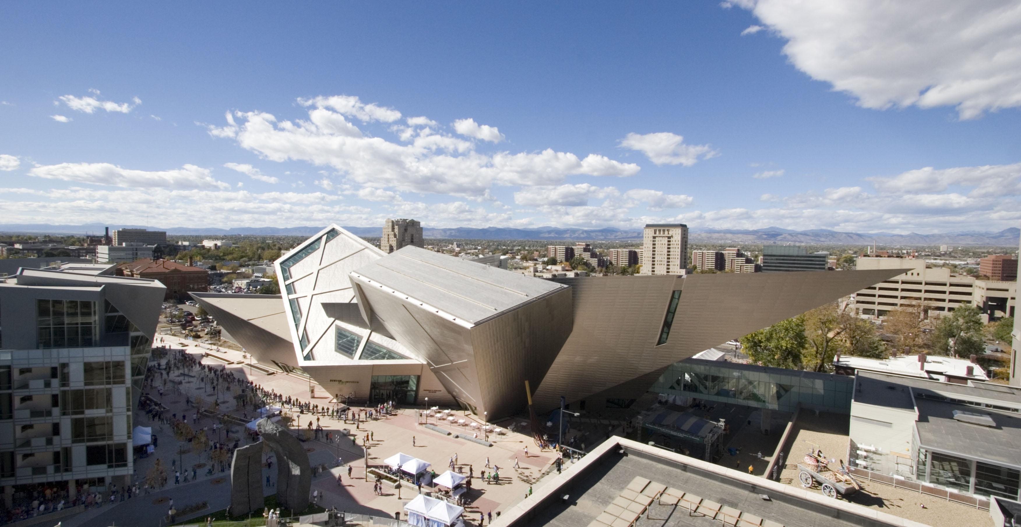 The Denver Art Museum DAM in Denver Colorado
