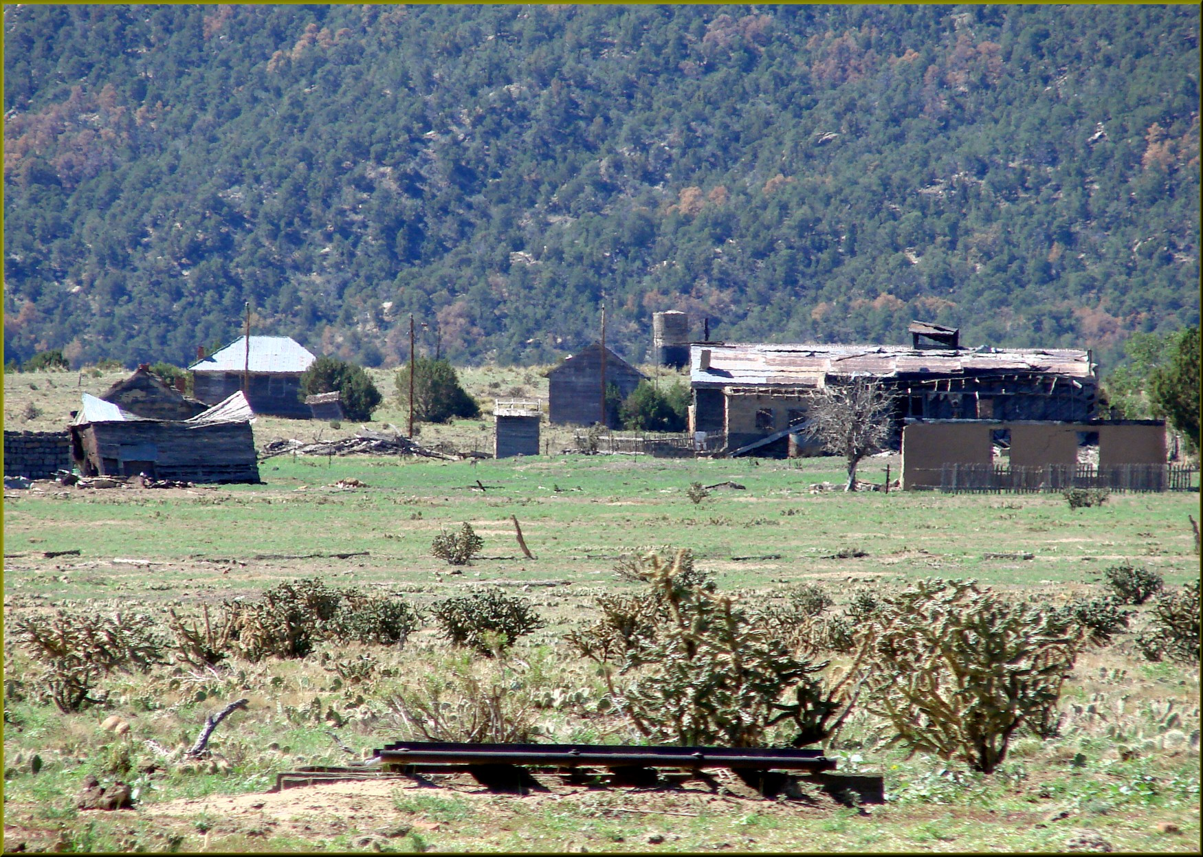 Ludlow Ghost Town souther Colorado Coal Mining town