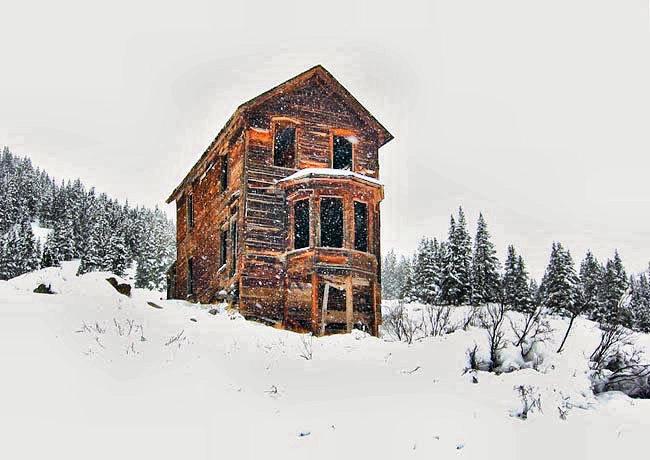 Animas Forks a mining town between Silverton and Ouray, Colorado