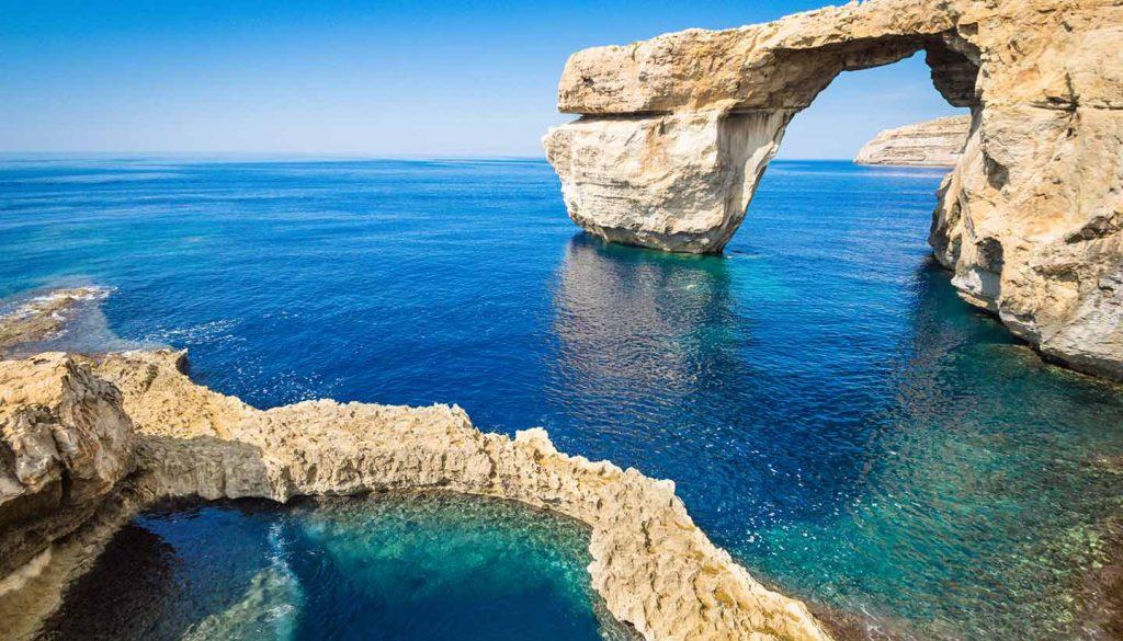 Malta travel should include Gozo Azure Window arch