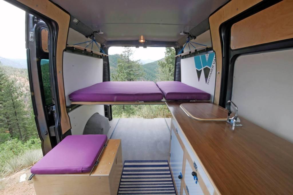 Simple Camper Van conversion