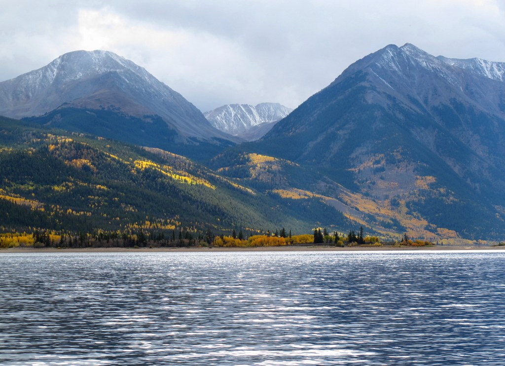 Twin Lakes near Leadville, Colorado