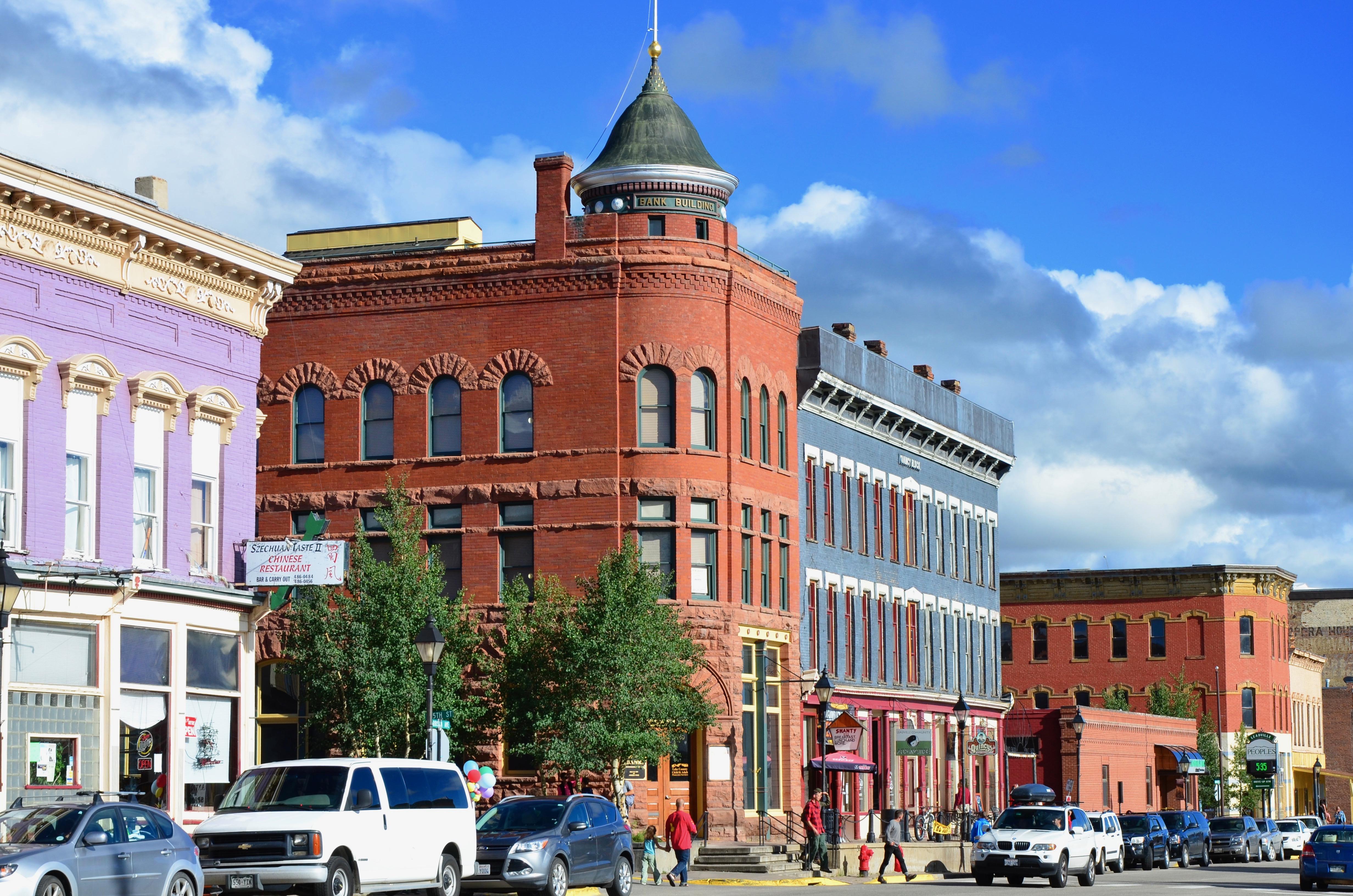 Main street in Leadville Colorado