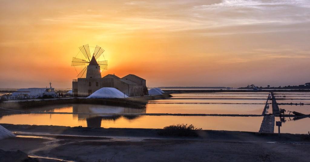 Marsala -Saline-Sicily