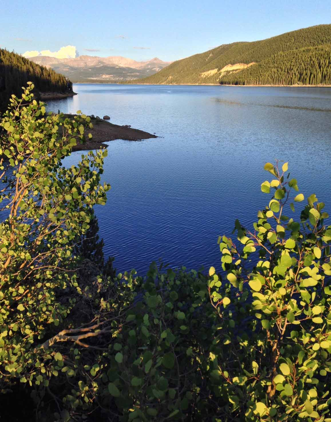 Turquoise Lake in Leadville Colorado
