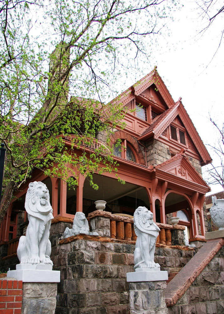 The Molly Brown House and Museum in Denver, Colorado