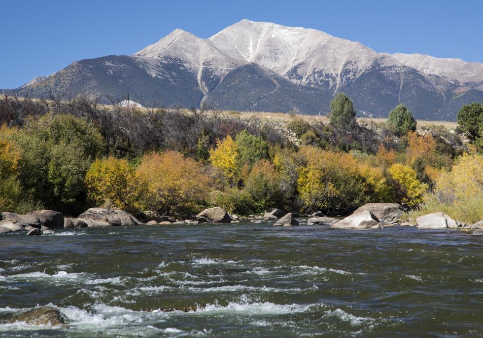 The Arkansas River Near Leadville Colorado