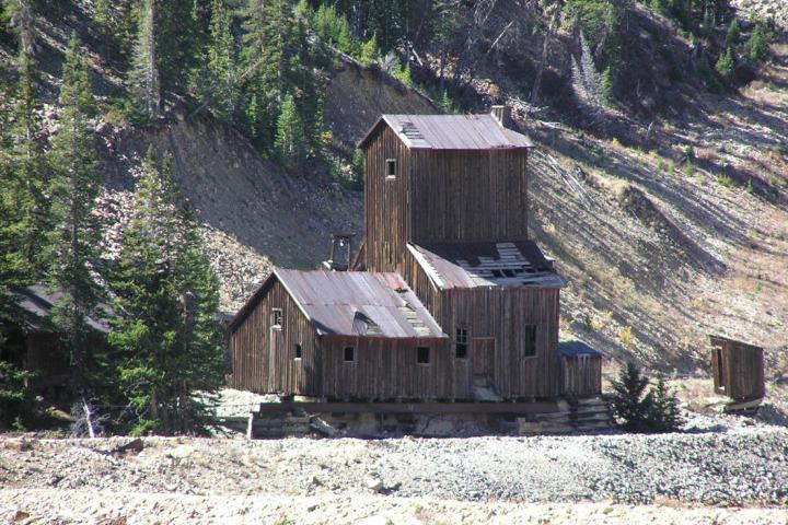 Mine in Oro City Lake County, Colorado