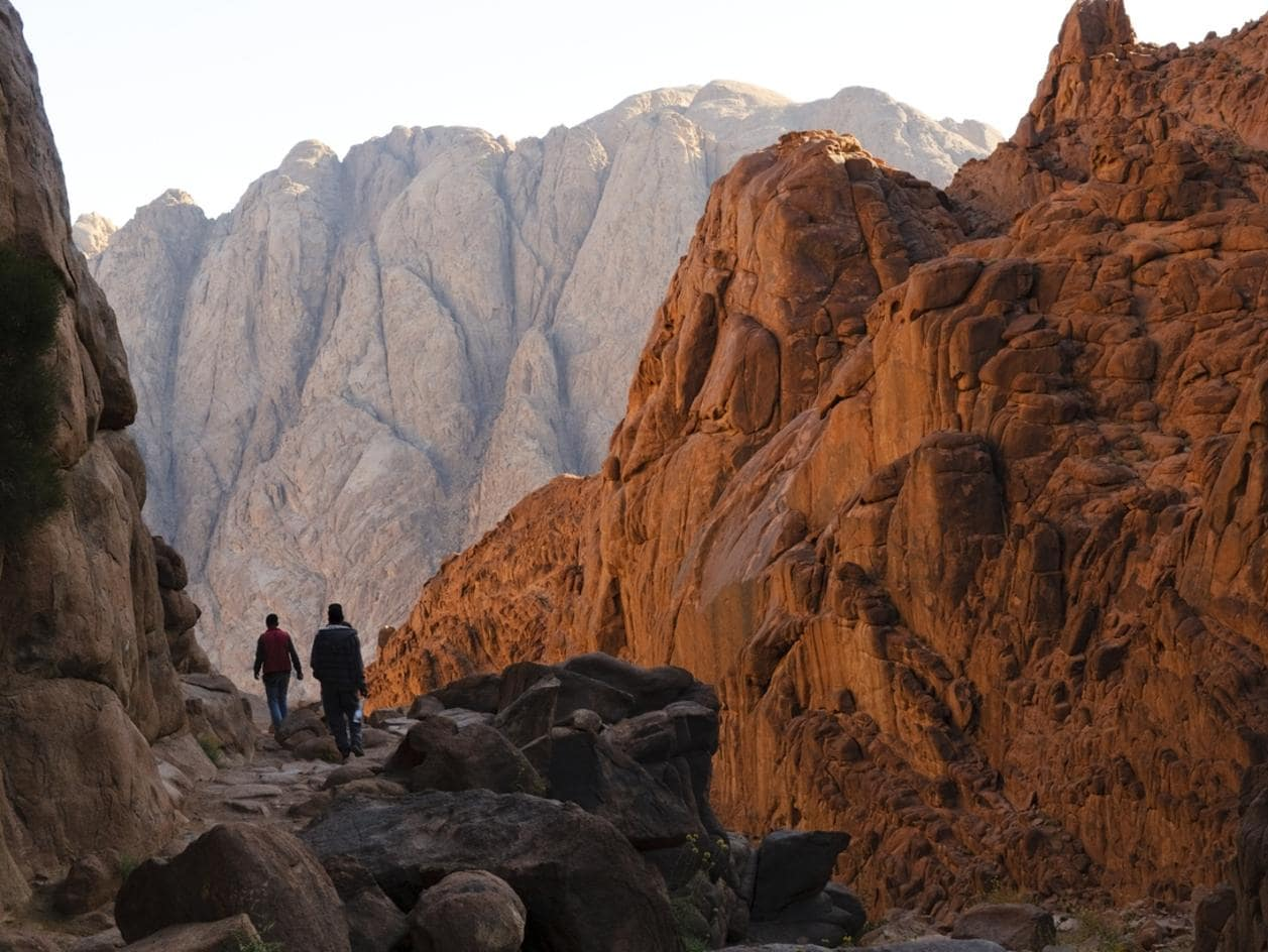 The Trail Up Mount Sinai