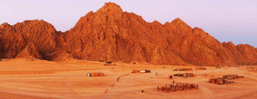 Mt Sinai in the Sinai Peninsula Egypt