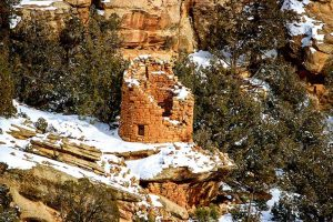 Canyons of the Ancients Anasazi Painted Hand Pueblo ruins