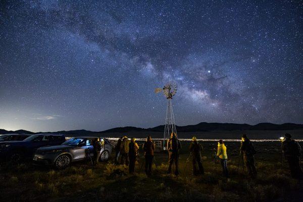 Night sky over Westcliffe Colorado