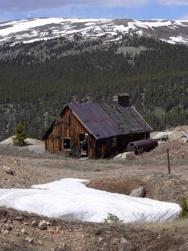 Mining operation Near Leadville Colorado