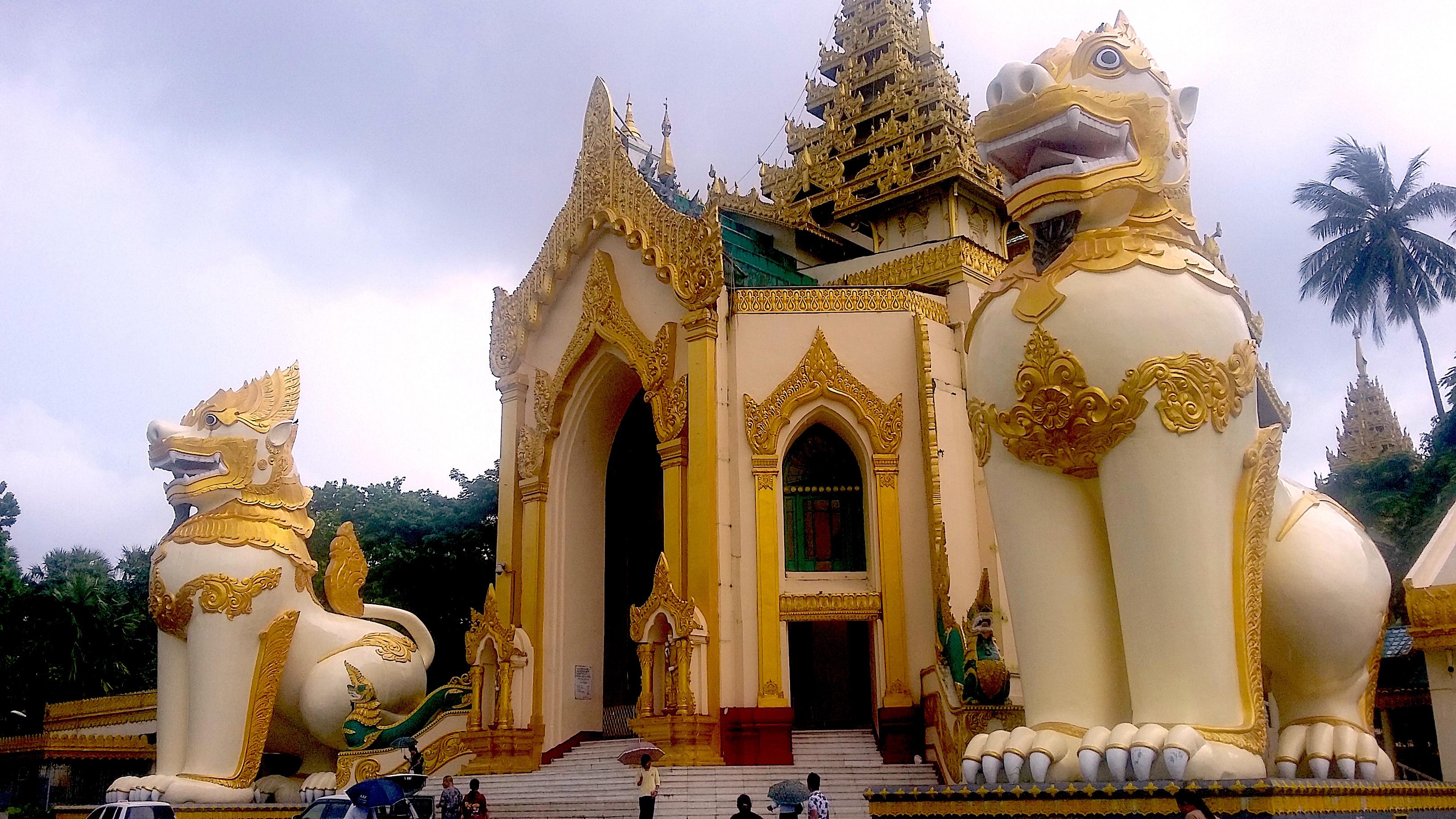 Shwedagon Pagoda Yangon Myanmar photo by Danette Ulrich