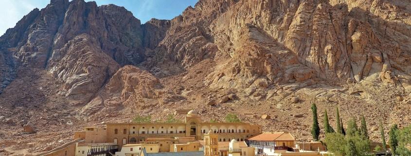 St Catherine's Monastery Mt Sinai Egypt