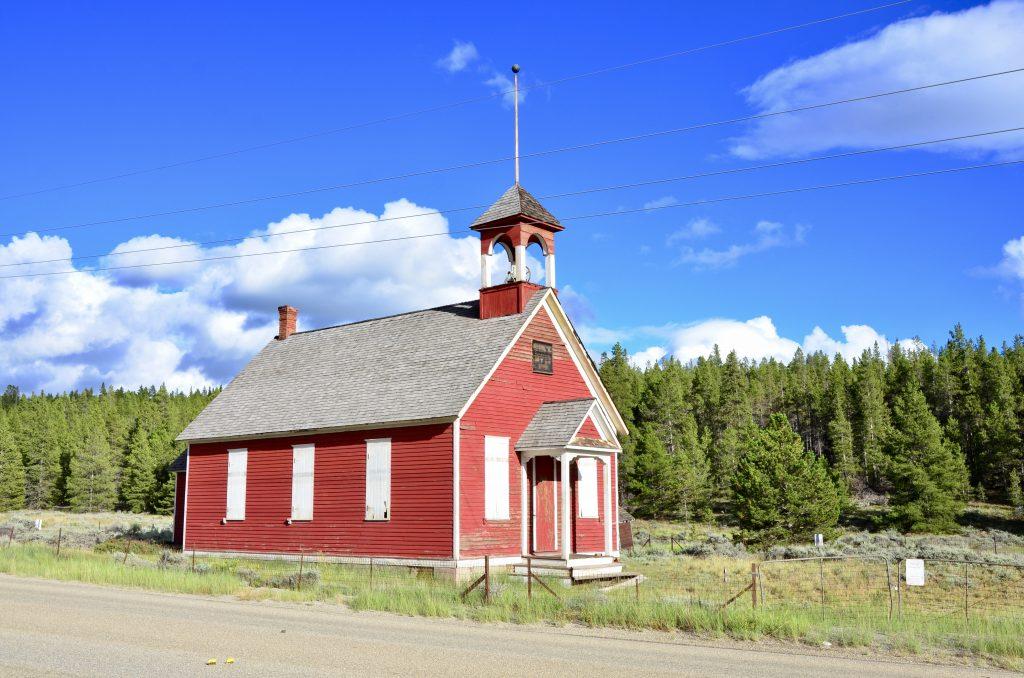 One room schoolhouse in Leadville Colorado