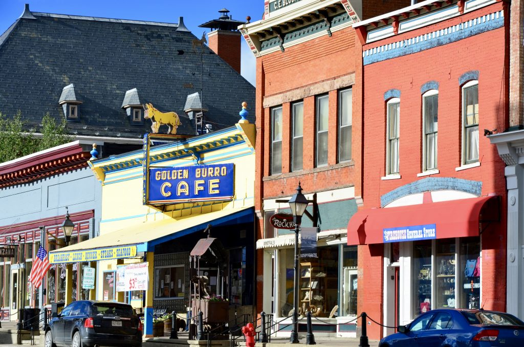 Downtown Street in Leadville Colorado photo by Danette Ulrich