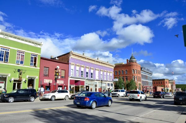 Downtown photo of Leadville Colorado Photo by Danette Ulrich