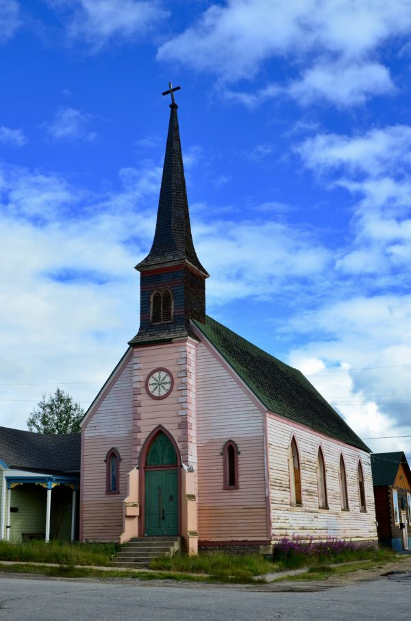 Historic Church in Leadville Colorado Photo by Danette Ulrich