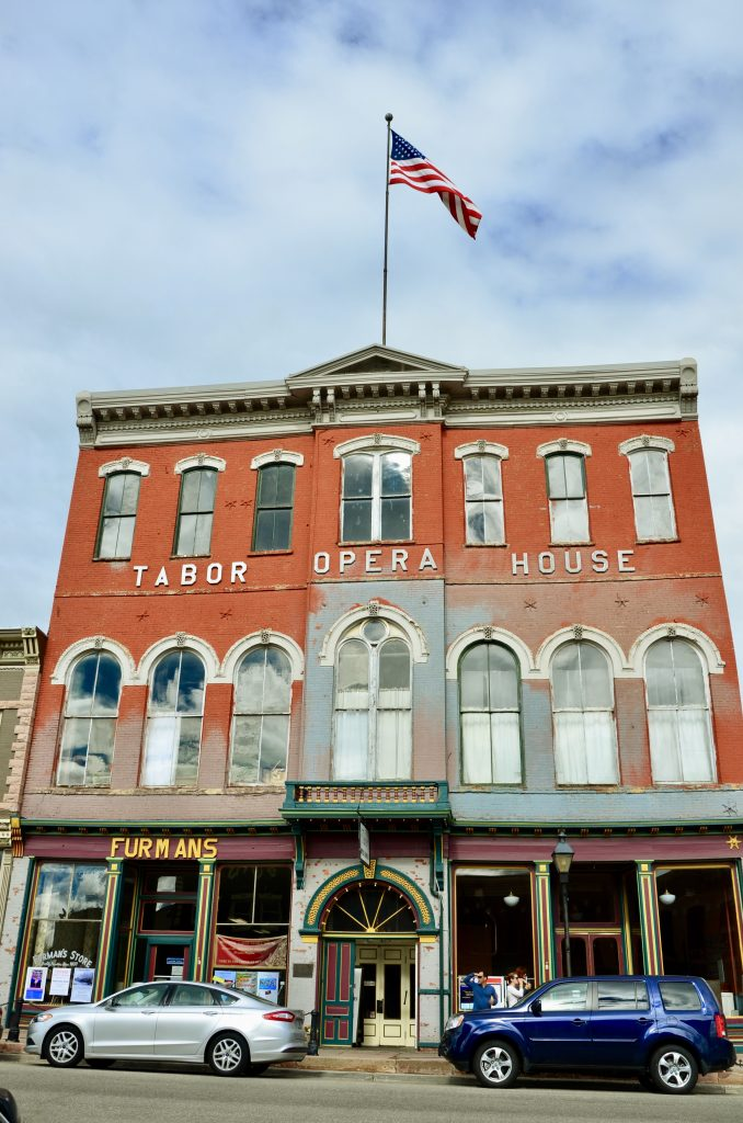 The Tabor Opera House in Leadville Colorado Photo by Danette Ulrich