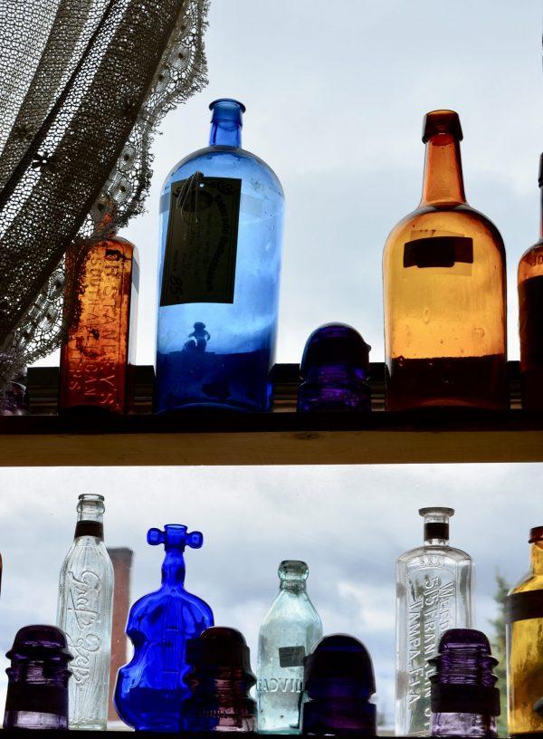 Antique Bottles in Leadville Colorado
