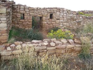 Outside an Anasazi Pueblo Canyon of the Ancients Colorado