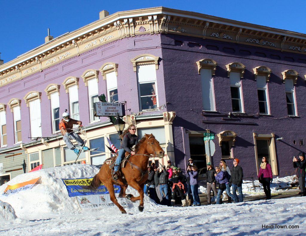 ski jouring Festival in Leadville Colorado