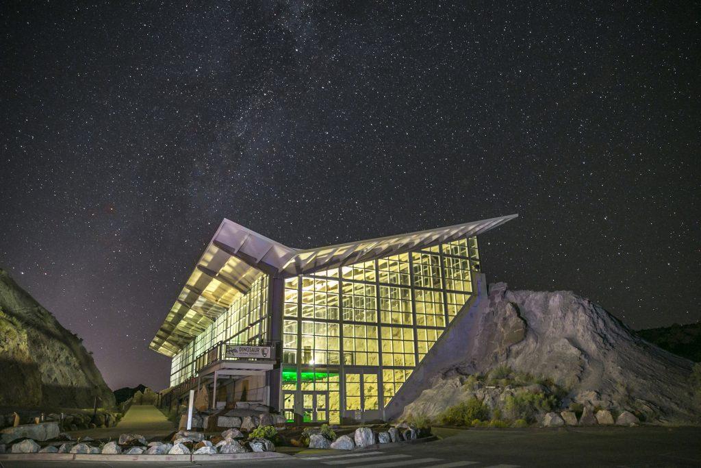 Colorado Stargazing at Dinosaur national Monument site
