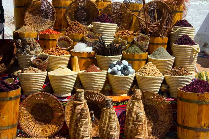 Khan el Kalili Market in Cairo Egypt