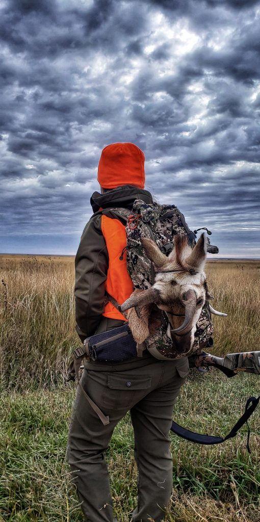 Ali with Pronghorn