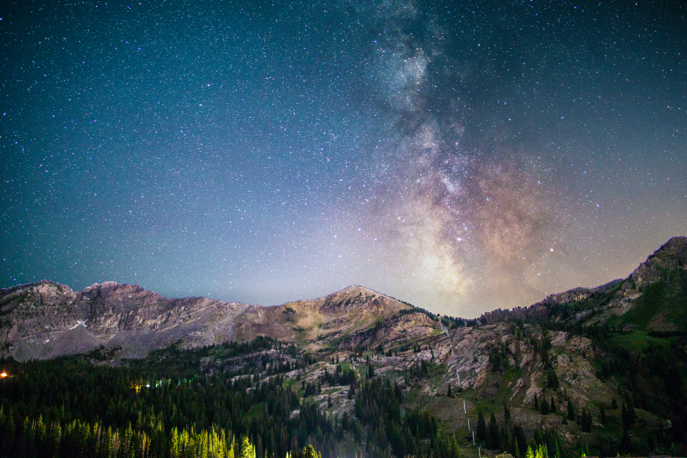 Colorado stargazing photos in Colorado