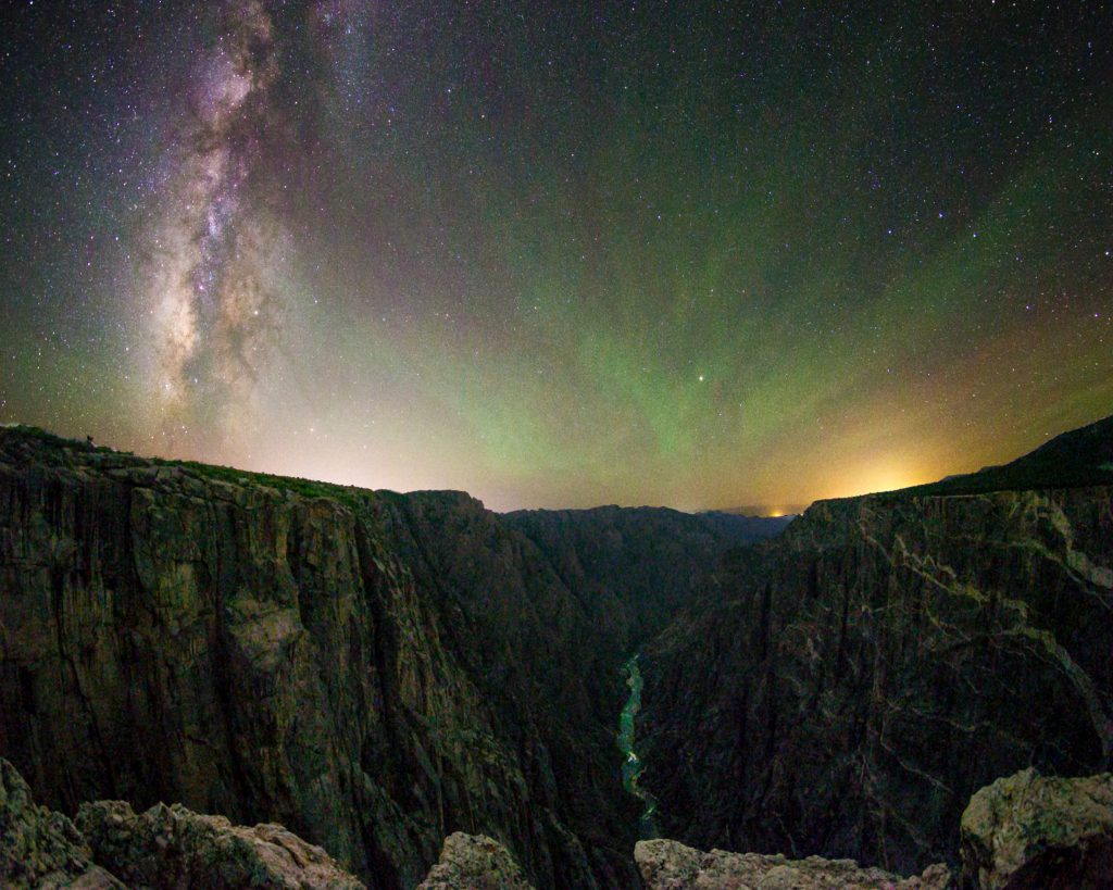 Colorado Stargazing black canyon of the Gunnison