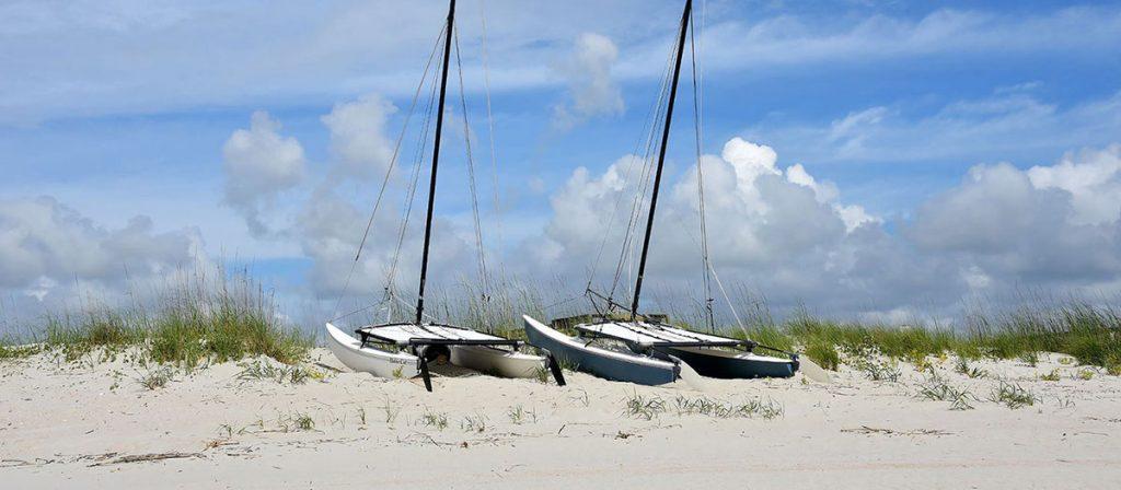 Pawleys Island a barrier island in South Carolina