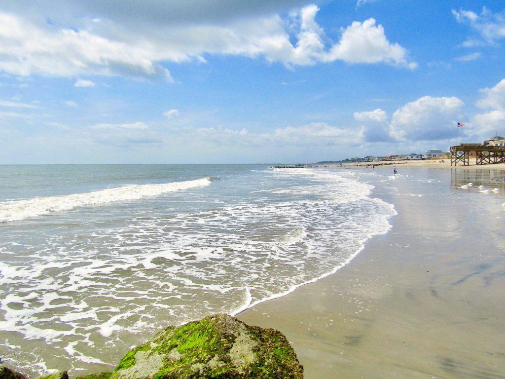 Edisto Beach on Edisto Island a barrier island in South Carolina