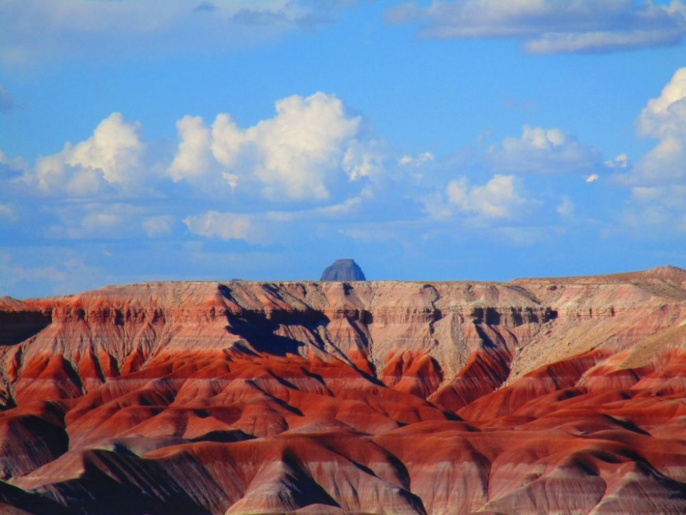 Painted Desert in Arizona a colorful place in nature